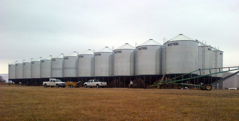 Factory to Farm Grain Bins