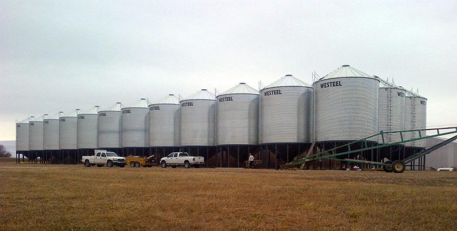 Factory to Farm Grain Bins