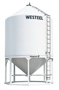 westeel fertilizer bin